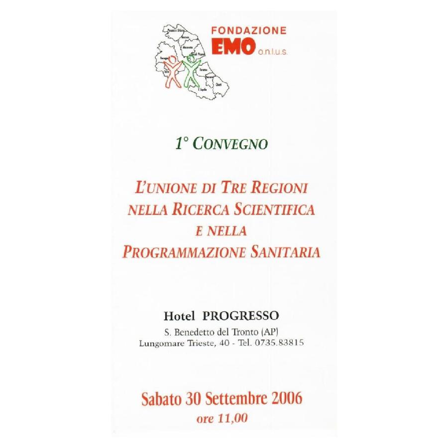 Fondazione EMO - Convegno 2006