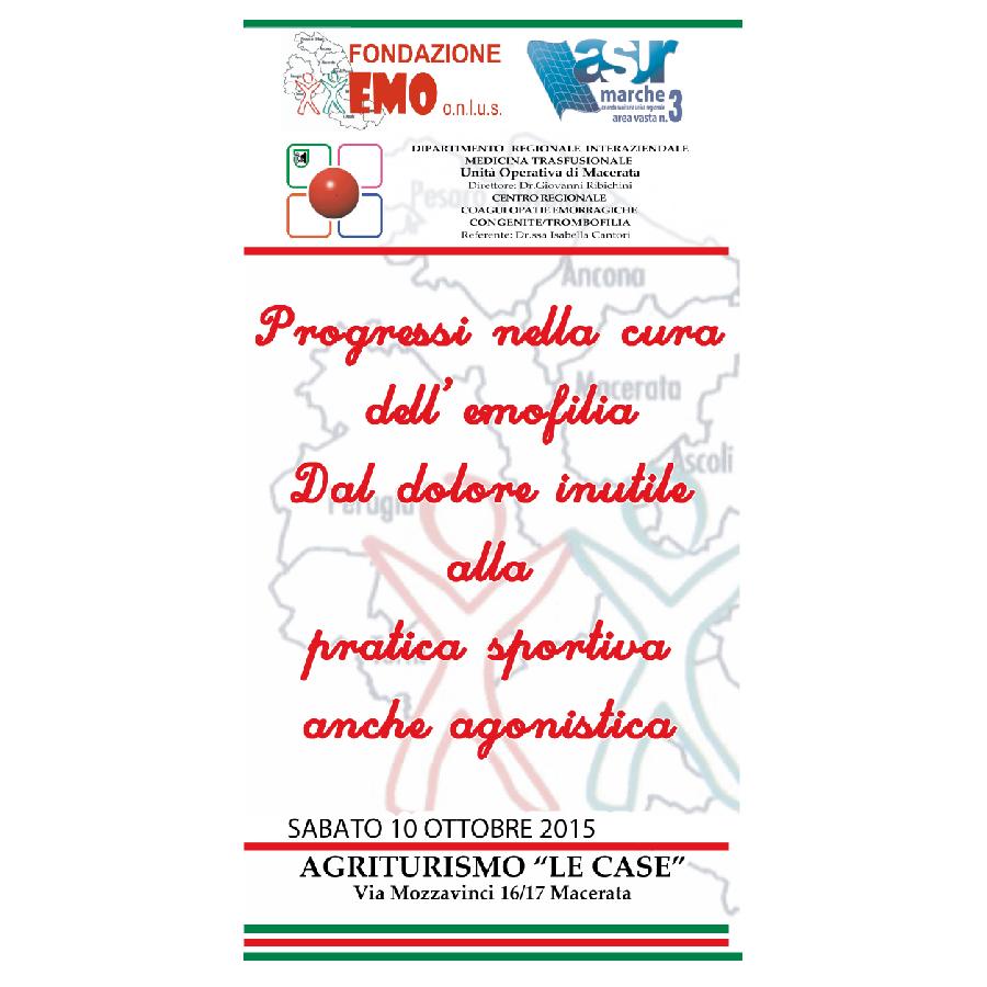 Fondazione EMO - Convegno 2015