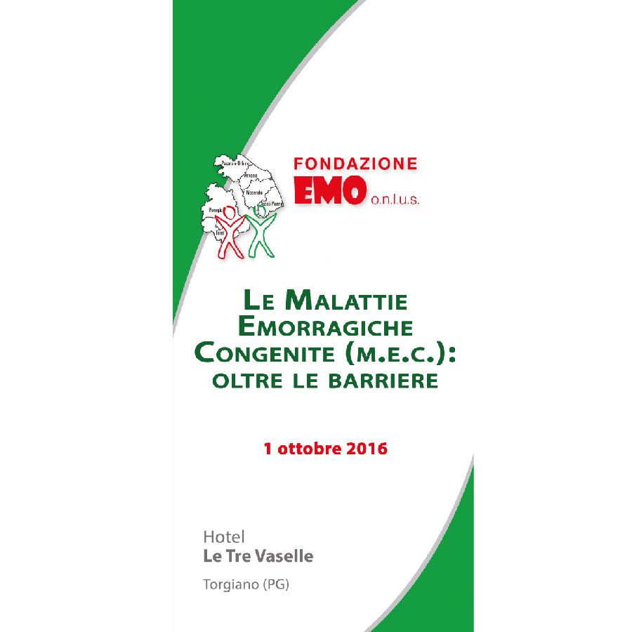 Fondazione EMO - Convegno 2016